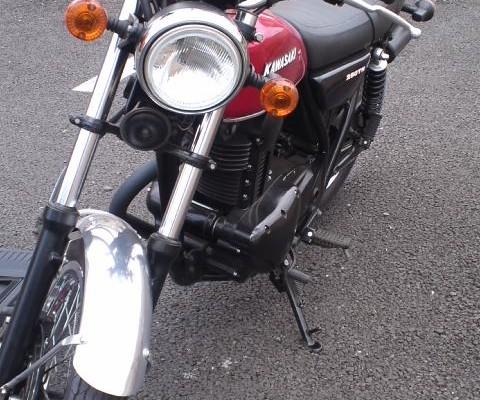 カワサキ 250TR 1