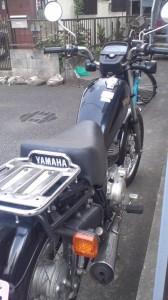 ヤマハ SR125 1